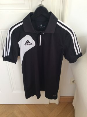 Adidas Sports Shirt black-white mixture fibre