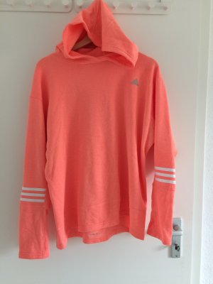 Adidas Jersey con capucha naranja neón