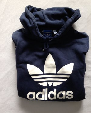 Adidas Hooded Sweater dark blue