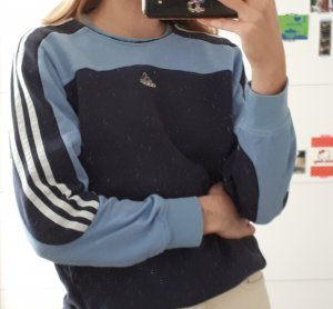 Adidas Crewneck Sweater white-blue