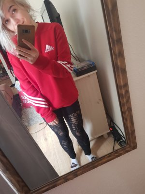 Adidas Veste sweat rouge-rouge brique