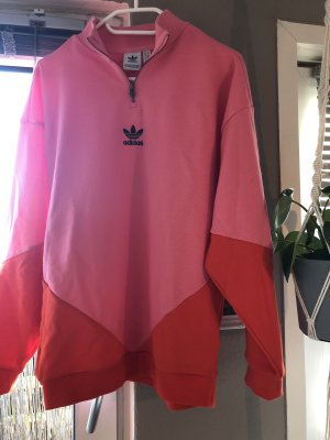 Adidas Oversized Sweater red-pink