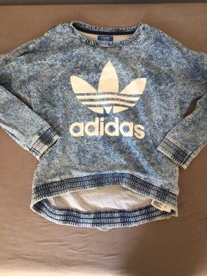 Adidas Originals Oversized trui wit-blauw