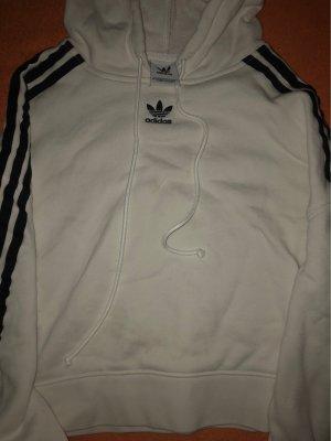 Adidas Jersey con capucha blanco-negro