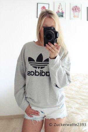 Adidas Pullover Aktuelle Kollektion Grau 32 34 36