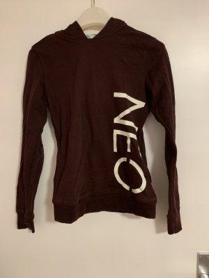 Adidas NEO Capuchon sweater bordeaux