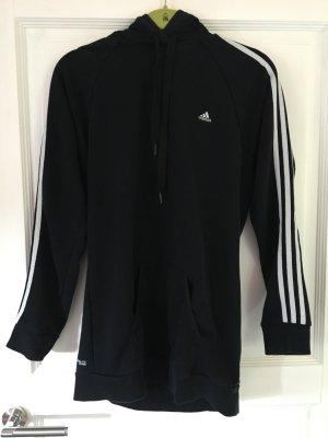Adidas Pullover / Hoodie / Sweatshirt schwarz weiß Gr. M