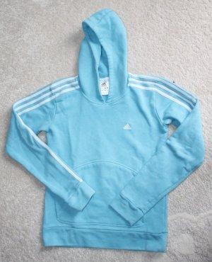 Adidas Sweat Shirt turquoise-white