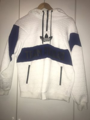Adidas Hooded Sweater blue-white