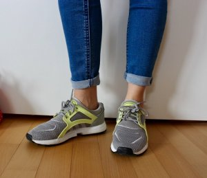 Adidas Racer lite grau gelb