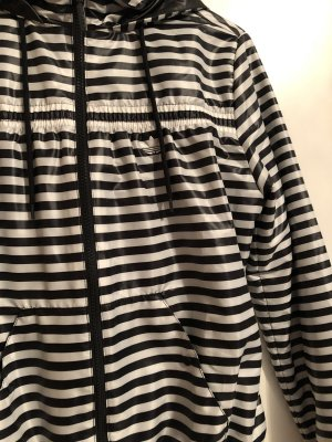 Adidas Chubasquero blanco-negro