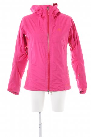 Adidas Chubasquero rosa estilo deportivo