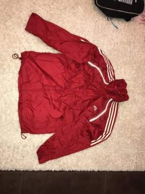 Adidas Imperméable rouge