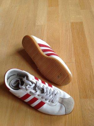 Adidas Rekord rot-weiß Gr.39