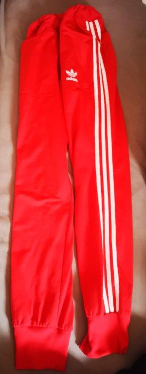 Adidas Vrijetijdspak rood