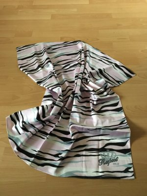 Adidas Respect Me Missy Elliot Tuch Schal Animalprint grau silber rosa TOP