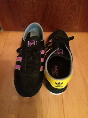Adidas Retro Sneaker Schwarz Rosa 38