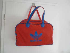 Adidas Originals Bowling Bag red-neon blue polyester