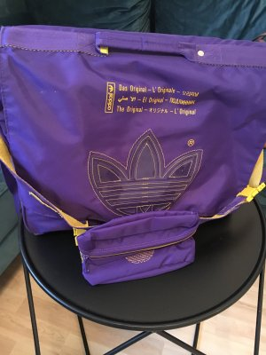 Adidas Originals Crossbody bag dark violet-yellow
