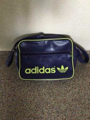 Adidas Borsa a spalla giallo-viola scuro