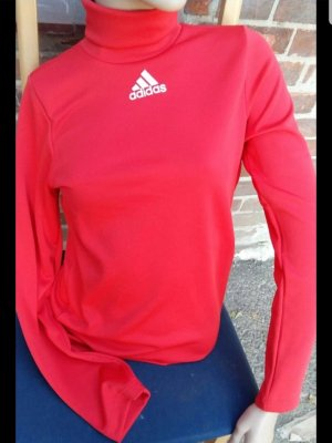 Adidas Top à col roulé rouge