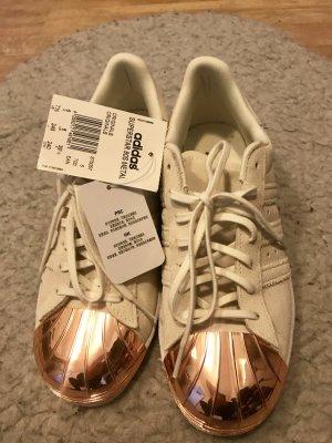 Adidas Rose Gold Metal Toe Shoes