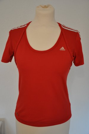 adidas rotes Performance Funktionsshirt / Laufshirt Gr. S / 36