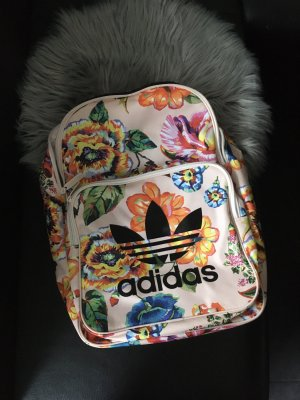 Adidas School Backpack light pink nylon