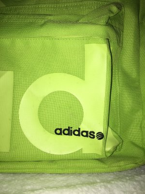 Adidas Rucksack Neon Yellow/Green.
