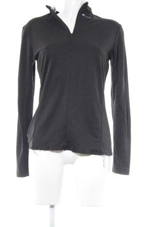 Adidas Jersey de cuello redondo negro look casual