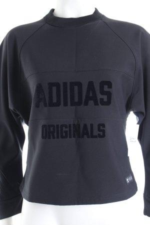 """Adidas Rundhalspullover """"Twisted LS Top"""" schwarz"""