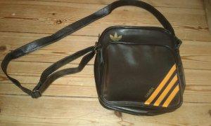 Adidas Samba Tasche braun orange