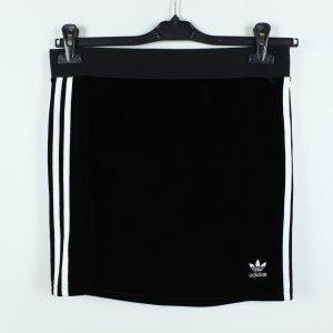 Adidas Originals Mini-jupe noir-blanc polyester