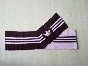 Adidas Schal zum Wenden in braun und rosa