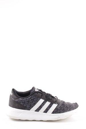 Adidas Schlüpfsneaker schwarz-weiß Punktemuster Casual-Look