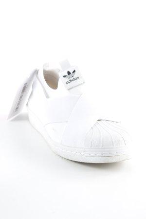 Adidas Schlüpfsneaker weiß Casual-Look