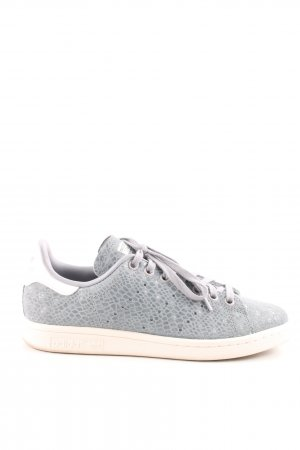 Adidas Lace Shoes light grey animal pattern casual look
