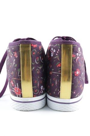 Adidas Schnürschuhe Blumenmuster Casual-Look