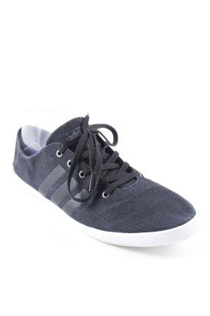 Adidas Schnürschuhe dunkelblau-schwarz schlichter Stil