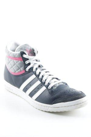 Adidas Schnürschuhe Steppmuster Casual-Look