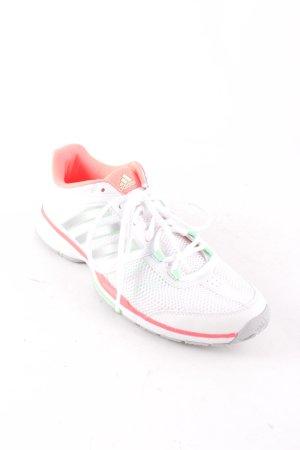 Adidas Schnürschuhe weiß-mint sportlicher Stil