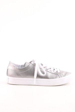 Adidas Schnürsneaker silberfarben-weiß Casual-Look
