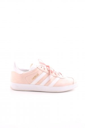 Adidas Lace-Up Sneaker pink-white athletic style