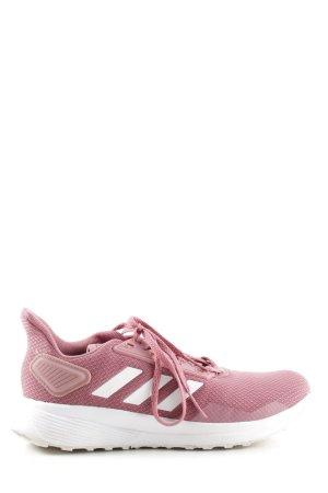 Adidas Zapatilla brogue rosa look casual
