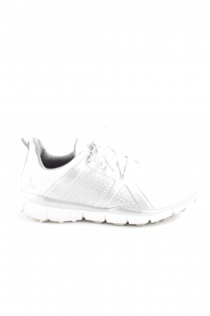 Adidas Lace-Up Sneaker white spot pattern casual look