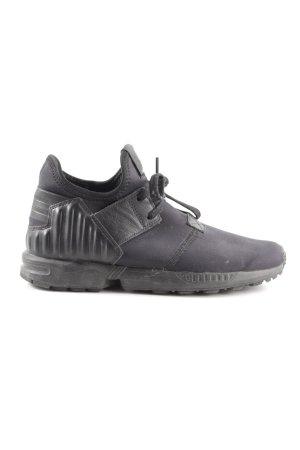 Adidas Schnürsneaker schwarz-blau sportlicher Stil