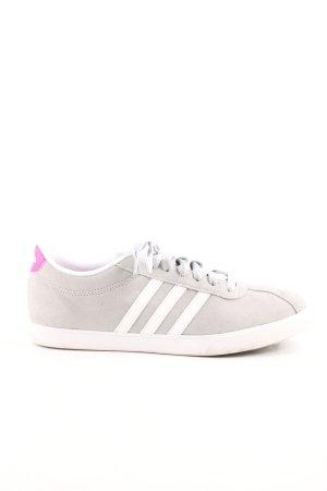 Adidas Zapatilla brogue gris claro-blanco look casual