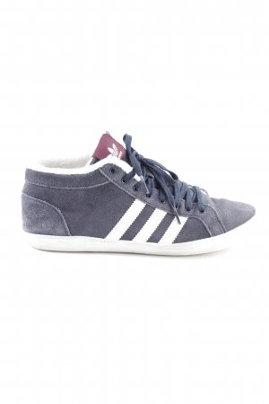 Adidas Lace-Up Sneaker blue-white casual look