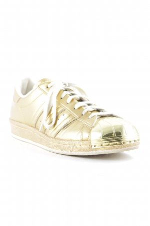"Adidas Schnürsneaker ""Adidas Superstar 80s Metallic Pack (Gold Metallic / Gold Metallic / Off White)"""