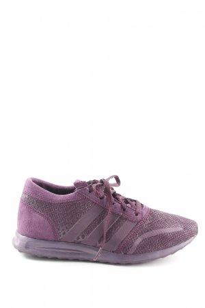 Adidas Lace-Up Sneaker blackberry-red simple style